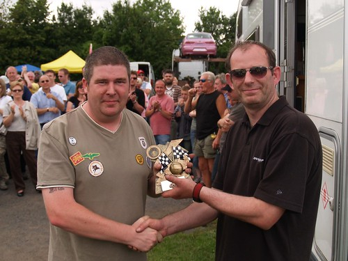 Phil Donaghy 2nd in class at Castle Combe 2007