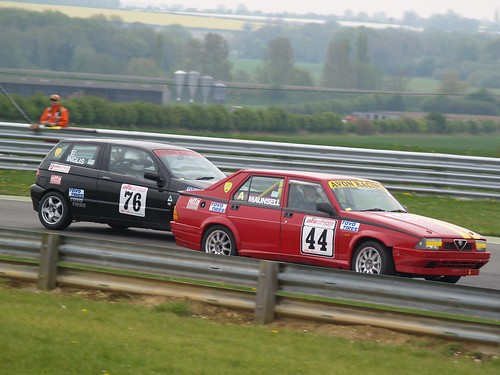 Inglis and Eyre-Maunsell at Snetterton 2008