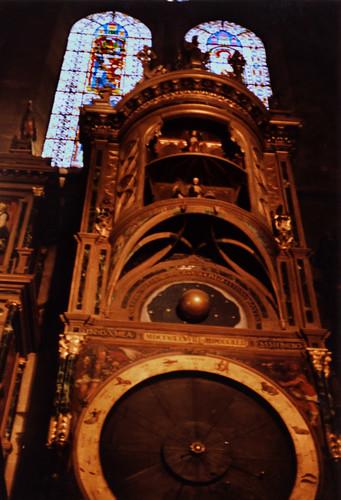 """Straßburg 1987 (08) Astronomische Uhr, Straßburger Münster • <a style=""""font-size:0.8em;"""" href=""""http://www.flickr.com/photos/69570948@N04/51005592717/"""" target=""""_blank"""">View on Flickr</a>"""