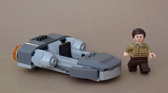 Gian-211 Resistance Speeder & Major Taslin Brance