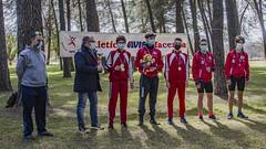 La premiazione allievi con Leonardo Storani e Marco Pallotta