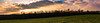 Panorama from Tonge Fields looking over Dunscar woods