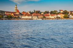 Silhouette Überlingen Bodensee