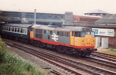 Photo of 02587 31271 Trowse Lower Junction Norwich 21.05.1988