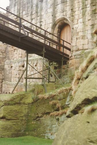Ravenscraig Castle entrance, Kirkcaldy, Fife c.1990.