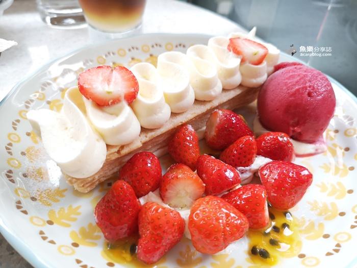【台北大安】SEASON Artisan Pâtissier敦南旗艦店|完美草莓千層派 @魚樂分享誌