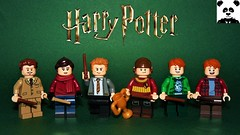 Gryffindors [Harry Potter Minifigs #07]