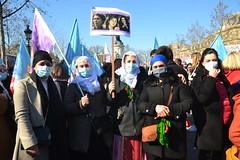 Rassemblement à la veille du 8 mars