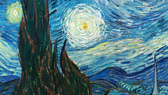 van Gogh, Starry Night,