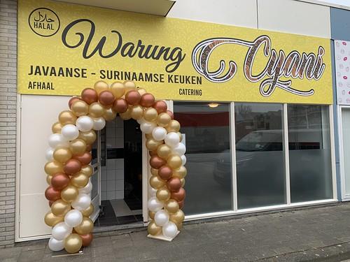 Ballonboog 6m Opening Warung Cyani Spijkenisse