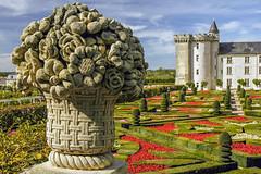 Schloss Villandry Loire IV