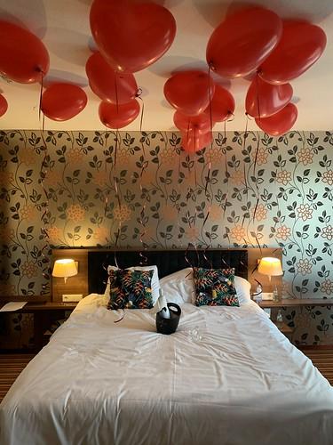 Heliumballonnen Hartballonnen Huwelijksaanzoek van der Valk Hotel Ridderkerk