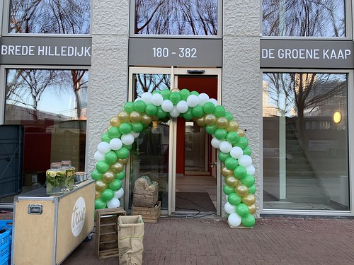 Ballonboog 6m Oplevering Groene Kaap Katendrecht Rotterdam