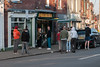 Queuing for Takeaway -  Lockown Three - Coronavirus (COVID-19) Sheffield, UK