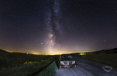 Route de la Voie lactée / Milky way's road