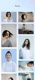 Saori Hara Hair Makeup Web Site