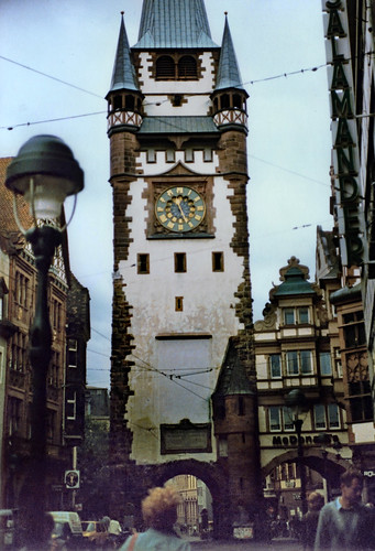 "Freiburg 1987 (01) Martinstor • <a style=""font-size:0.8em;"" href=""http://www.flickr.com/photos/69570948@N04/51018318240/"" target=""_blank"">View on Flickr</a>"