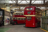 1950s contrasts - Museum of Transport Greater Manchester, December 2018
