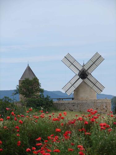 moulins printemps