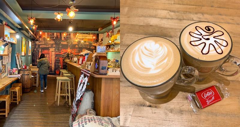 【台南美食】歐塔克 手作烘焙咖啡 安平運河附近的平價咖啡店!有店貓出沒!