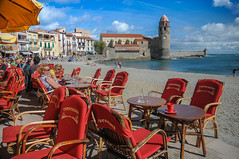 Strand in Collioure - Languedoc