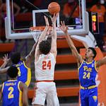 Clemson Pitt basketball