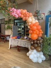 halve organize ballonnenboog