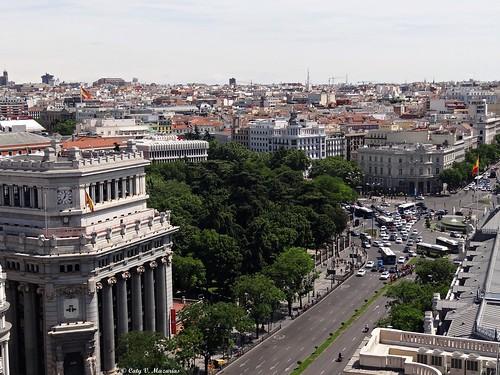 Calle de Alcalá de Madrid.