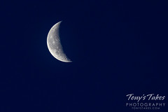 March 7, 2021 - Waxing gibbous moon. (Tony's Takes)