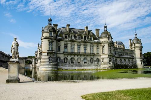 Le château de Chantilly, domaine de Chantilly, Picardie, France