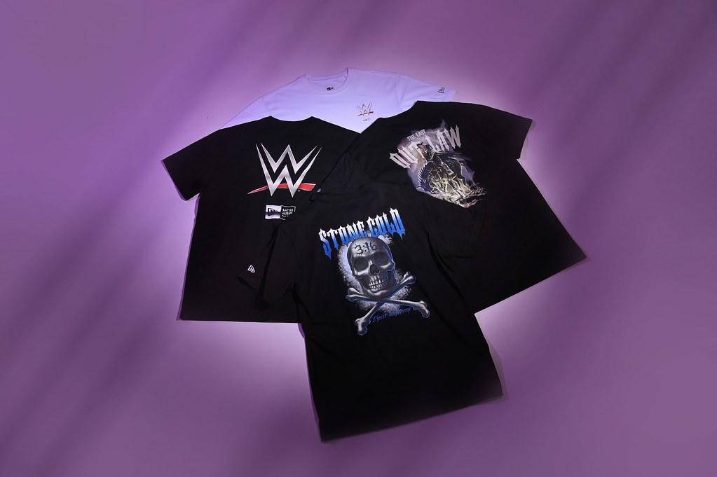 New Era X WWE 加碼推出服飾系列 一秒變身!成為行走中的「擂台王者」!