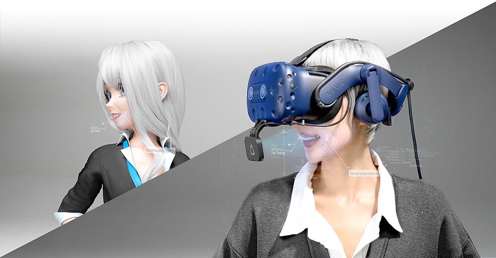 VIVE-Facial-Tracker---being-worn