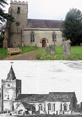Photo of then & now - Norton Juxta Twycross, Leicestershire