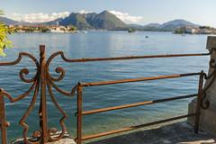 Lago Maggiore mit Borromäischen Inseln II Piemont, Italien