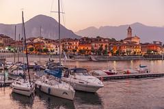 Lago Maggiore bei Baveno, Piemont, Italien