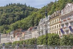 Stadtansicht Karlsbad Karlovy Vary CZ IV