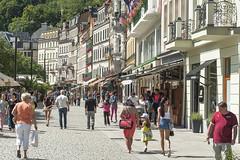 Stadtansicht Karlsbad Karlovy Vary CZ VII