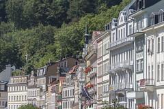Stadtansicht Karlsbad Karlovy Vary CZ VIII