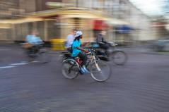 Radfahrer Delft Niederlande