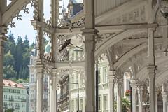 Stadtansicht Karlsbad Karlovy Vary CZ V