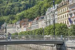 Stadtansicht Karlsbad Karlovy Vary CZ I