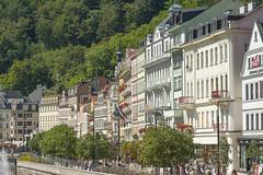 Stadtansicht Karlsbad Karlovy Vary CZ III