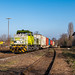 Duisburg Hamborn Captrain 404 80ft  containerwagens