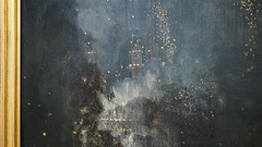 Whistler, Nocturne in Black and Gold: the Falling Rocket (detail)