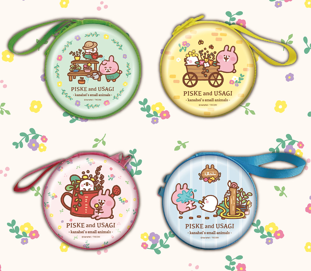 圖3-2.春日P助與粉紅兔兔只屬於你!小農主題紀念幣、姓名貼、拍貼機、扭蛋等可愛小物粉絲必收