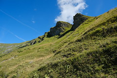 Sentier du Col du Joly au Col de Véry
