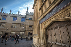 Bodleian Library, established in 1602