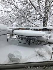 March 14, 2021 - Thornton's big storm. (Jill Varga Concannon)