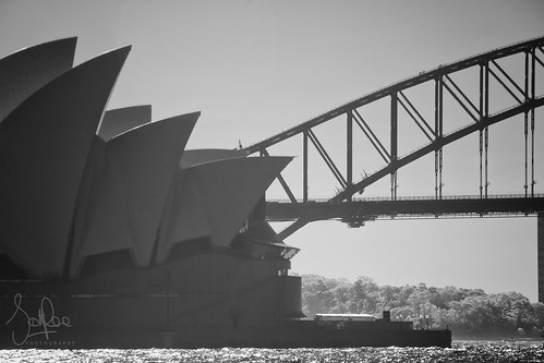 Detail of the Opera House and Bridge