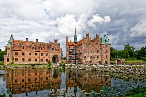 Schloss Egeskov (Fünen, DK)